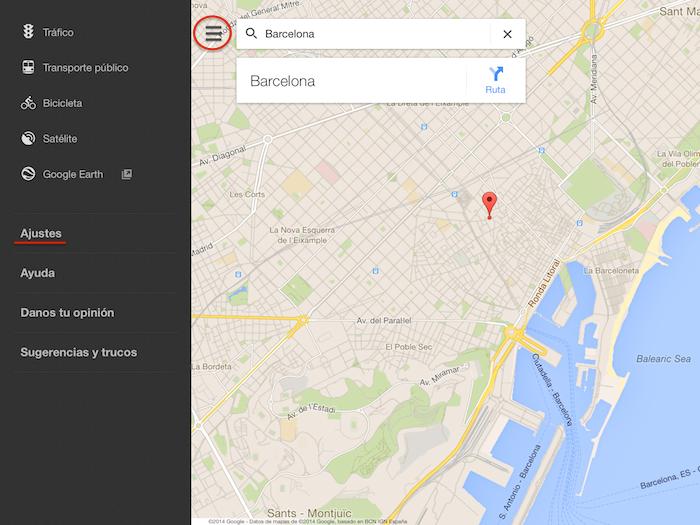 Cmo guardar y utilizar offline mapas de google maps en iphone y ipad google maps tutoria 1 gumiabroncs Image collections