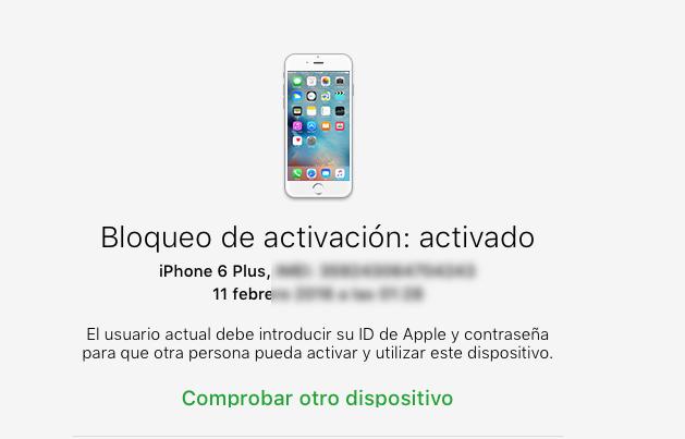 Buenas ,me han vendido un iPhone 5s bloqueado por icloud ...