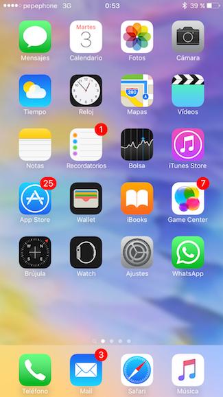 Truco para mejorar los fondos de pantalla de tu iphone for Aplicaciones de fondos de pantalla